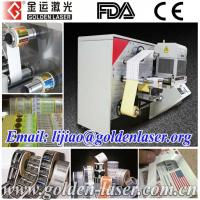 Roll to Roll High Speed Laser Cutting Machine for Stickers Label ZJJB-3030 Manufactures
