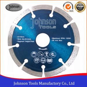 115mm Diamond Stone Cutting Blades Granite Stone Cutting Tool / Granite Cutting Disc Manufactures