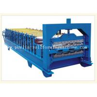 0.3mm - 0.8mm Color Steel , 12Mpa Roof Double Layer Roll Forming Machine Manufactures