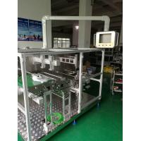 Powerful Non Woven Mask Making Machine Taiwan Delta PLC System , Folding Rate Very Low Manufactures