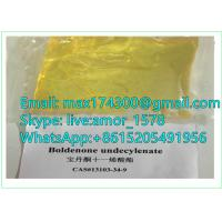 China raw powders steroids for muscle building Boldenone undecylenate CAS 13103-34-9 99.8% purity on sale