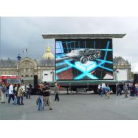 High Definition P10 Outdoor Advertising Display Screens With Wide Viewing Angel Manufactures