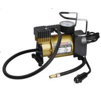 120 W Power Auto Air Compressor Electric Tyre Pump Metal With Plastic Material Manufactures
