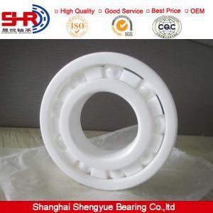 China ZrO2 ceramic deep groove ball bearings 6201CE on sale