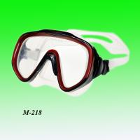 Tempered glass diving mask silicone swim/dive mask leisure mask Manufactures
