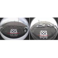 DC 24V HD 360 Bird View Bus Camera Systems , Seamless Splicing Image, Four-channel DVR Manufactures