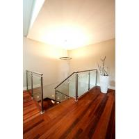 Stainless Steel Deck Glass Railing/ Balcony Glass Balustrade Interior Railing Design Manufactures