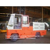 Red Road Construction Machinery Diesel Engine Side Load Fork Lift For Wood Pipe Long Goods Transport Manufactures