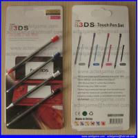 Quality 3DS retractable stylus 4in1 pack Nintendo 3DS game accessory for sale