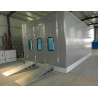 China Professional Infrared Paint Bake Oven , Portable Spray Paint Booth on sale
