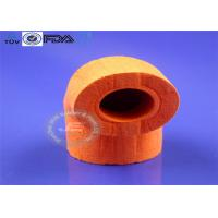 Red OEM Molded Silicone Parts New Design Open Cell Foam Tube Type Manufactures