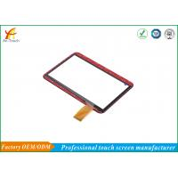 Bright Home Automation Wall Touch Screen / Red Color Home Touch Panel