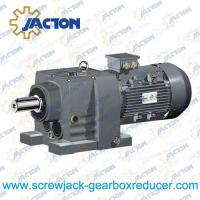 3HP 2.2KW R RX Series foot mounted Helical Geared Reducer Gear Motor Specifications Manufactures