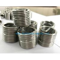 China 304 high temperature resistant alloy stainless steel screw thread inserts by bashan on sale