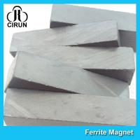 China Block Shaped Y25 Ferrite Magnet , Rectangular Strong Permanent Ferrite Magnets on sale