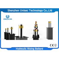High Security Hydraulic Rising Bollards Automatic Retractable Parking Bollards Manufactures