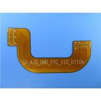 China Double Sided Flexible PCB With Stiffener of Stainless Steel Shim on sale