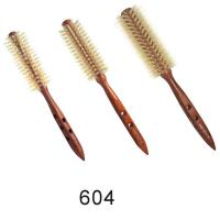 12s,14s,16s Ionic Wood Natural Bristle Round Hair Styling Brushes Manufactures