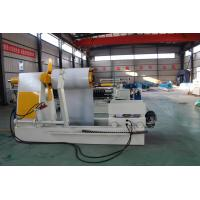 Simple Cut To Length And Slitting Line Low Speed Metal Roofing Roll Former Manufactures