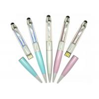 China 64gb High Capacity Acrylic Usb Flash Drive Pen Drive With Crystals on sale