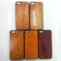 China for iPhone 5 Case Wood Shape Leather Hard Case, Protective Mobile Phone Skin Case on sale