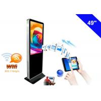 4K Resolution WiFi Digital Signage Display , Free Standing Digital Signage LCD Manufactures