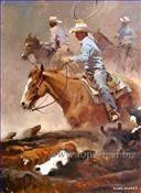 Impressionism Oil Painting Indiana, Cowboy Kid Paintings Manufactures
