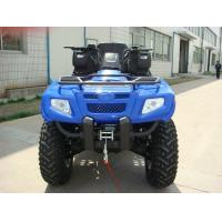 400cc ATV Quad Bike 4 * 4F / R Independent Suspension Iron / Aluminum Rim Electric Shift Manufactures