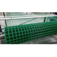 China 1x1 Pvc Coated Heavy Duty Welded Wire Mesh Panels For Cages With Small Hole on sale