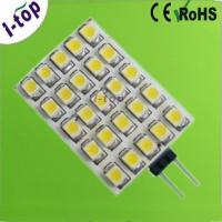 China Warm White Dimmable 25pcs 3528SMD G4 LED Lamps for Recessed Lighting 12V 125 Lumens on sale