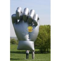 Huge Reusable Durable Inflatable Helium Fist for Sporting events, Custom Shaped Balloons Manufactures