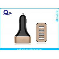 Quality Quick Charge 2.0 4 Port USB Car Charger 48W 9.6A / iPhone usb car adapter Fast Charging for sale