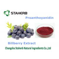 Bilberry Extract Antioxidant Food Supplements Dark Purple Fine Powder Manufactures