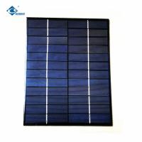China Meteorological 18V 5W Mppt Silicon Solar PV Module risen energy solar panels ZW-210156-P sun power solar panel 18V 5W on sale