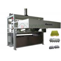 Fully Auto Paper Molded Egg Carton Making Machine Vacuum Suction Forming Type Manufactures