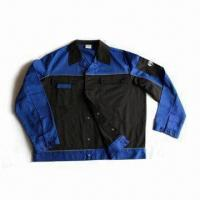 Jacket with Reflective Piping on Yoke and Waistband Manufactures