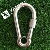 China DIN5299A Stainless Steel Snap Hook With Eyelet on sale