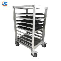 Alloy Food Trolley Covers Bread Cooling Rack Baking Trolley Bread Tray Rack Trolley Manufactures