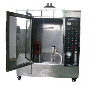 China ISO340:2004  Conveyor Belt Vertical Burning Test Machine for Textile Core Conveyor Belt on sale