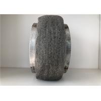 Knitted Wire Mesh Pad , Stainless Steel Mesh Pad Gas Liquid Separation Air Filter Manufactures