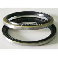 Excavator Hydraulic Cylinder Wiper Seal , HS90 - HS95 Rubber Dust Seals Manufactures