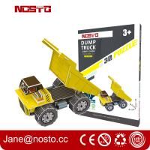 Miniature model series Excavator movable 3D puzzle educational toys Manufactures