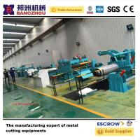 China High Speed Cut to Length line Machine Uncoil Straightening Steel on sale