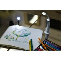 Comfortable Book Reading Led Lamp / Travel Book Light No Flicker Manufactures