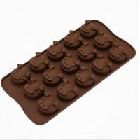 Animal Plastic Silicone Chocolate Molds Tool Heat Resistant Professional for sale