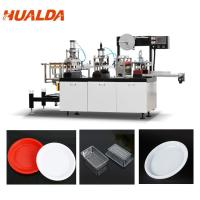 China Energy Saving Plastic Cup Forming Machine 3500 X 1000 X 1600 Mm Dimension for sale