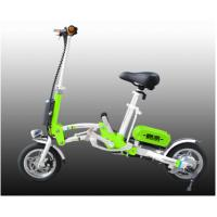 Colorful Folding Electric Bicycle Adult City Electric Push Bike With Lithium Battery Manufactures
