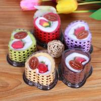 Buy cheap High quality cotton square gift towel / cake towel/gift towel set packing from wholesalers