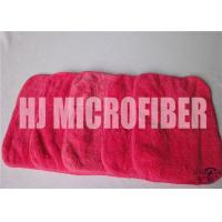 Quality Red Rose Cleaning Microfiber Cloths With 88% High Water - Absorption Rate 26X36cm for sale