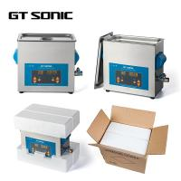 China 40KHz 6L Digital Control Parts Ultrasonic Cleaner , Heated Ultrasonic Washer 150W on sale